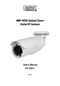 4MP WDR Optical Zoom Bullet IP Camera