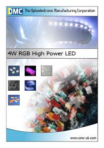 4W RGB High Power LED