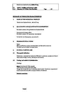 5 2. QUALITATIVE AND QUANTITATIVE COMPOSITION