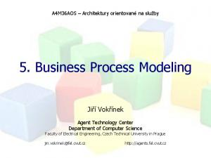5. Business Process Modeling