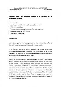 5 de noviembre de 2002 FSGG Barcelona