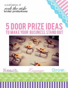 5 Door Prize Ideas to make your business stand out