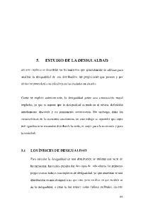 5. ESTUDIO DE LA DESIGL'ALDAD