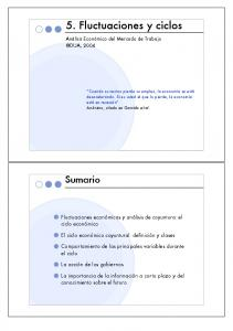 5. Fluctuaciones y ciclos