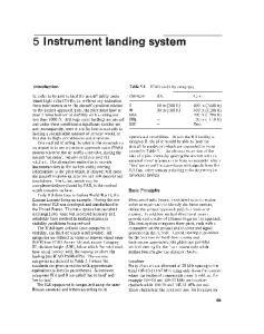 5 Instrument landing system