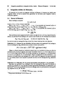 5. Integrales dobles de Riemann