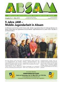 5 Jahre JAM Mobile Jugendarbeit in Absam