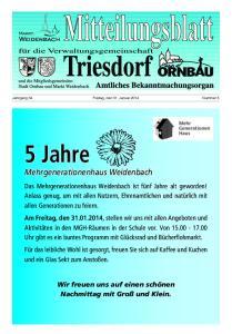 5 Jahre Mehrgenerationenhaus Weidenbach