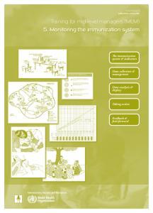 5. Monitoring the immunization system