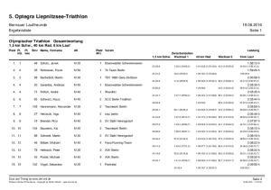 5. Optegra Liepnitzsee-Triathlon