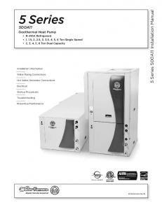 5 Series 500A11 Installation Manual