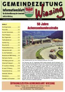 50 Jahre Achenseebundesstraße