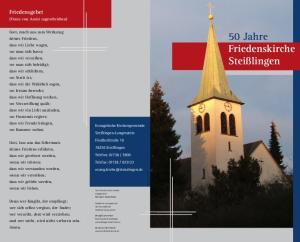 50 Jahre Friedenskirche Steißlingen