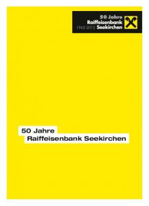 50 Jahre Raiffeisenbank Seekirchen