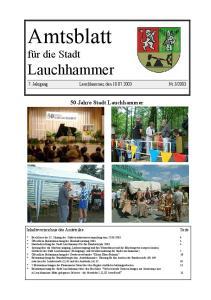 50 Jahre Stadt Lauchhammer