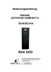 50 kva BAX 5452