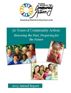50 Years of Community Action: