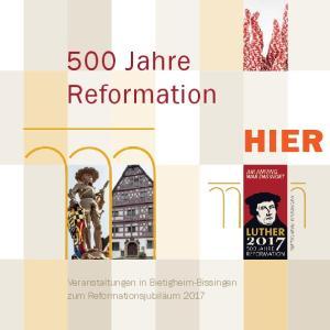 500 Jahre Reformation HIER
