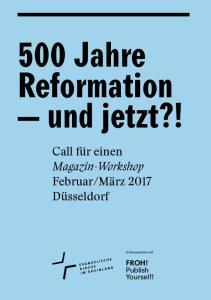 500 Jahre Reformation und jetzt?!