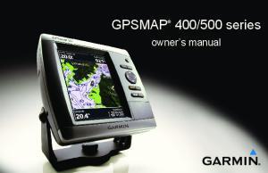 500 series. owner s manual