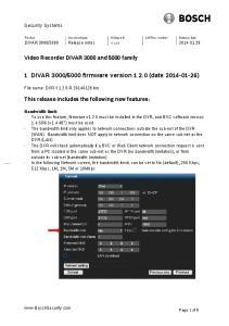 5000 firmware version (date )