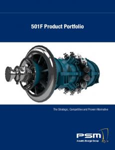 501F Product Portfolio