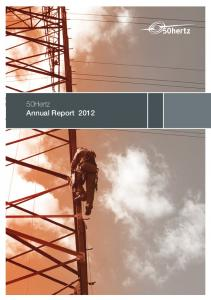 50Hertz Annual Report 2012