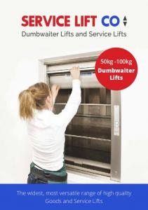 50kg -100kg Dumbwaiter Lifts