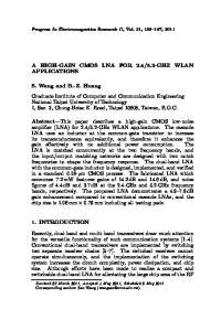 5.2-GHZ WLAN APPLICATIONS