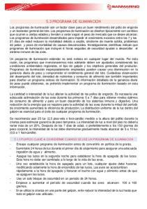 5.3 PROGRAMA DE ILUMINACION