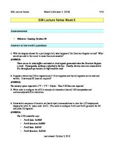 538 Lecture Notes Week 5