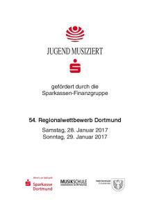 54. Regionalwettbewerb Dortmund