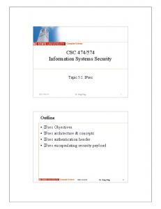 574 Information Systems Security