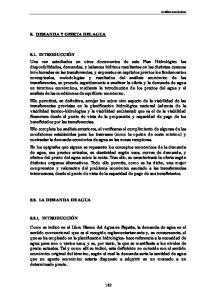 6. DEMANDA Y OFERTA DEL AGUA