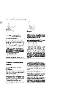 6 Differential- und Integralrechnung A Reellwertige Funktionen einer reellen Variablen. Mathematik 6 Differential- und Integralrechnung
