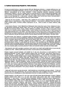 6. Festiwal Zaczarowanej Piosenki im. Marka Grechuty