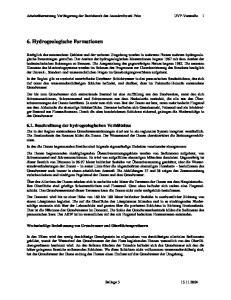 6. Hydrogeologische Formationen
