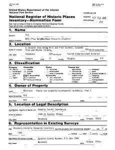 6. Representation in Existing Surveys
