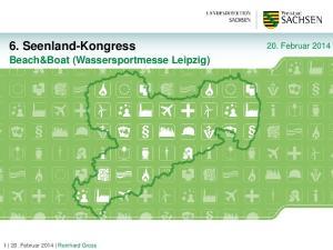 6. Seenland-Kongress Beach&Boat (Wassersportmesse Leipzig)