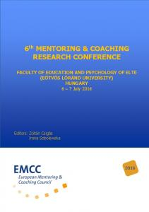 6 th MENTORING & COACHING RESEARCH CONFERENCE