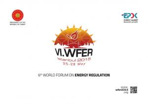 6 th WORLD FORUM ON ENERGY REGULATION. www. wfer2o15.org