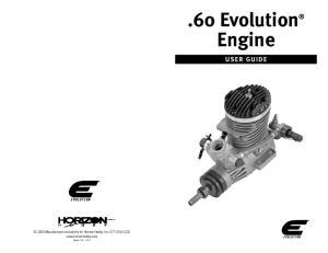 60 Evolution Engine USER GUIDE