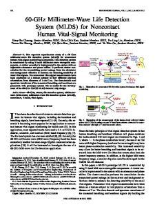 602 IEEE SENSORS JOURNAL, VOL. 12, NO. 3, MARCH 2012