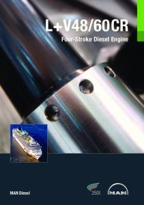 60CR. Four-Stroke Diesel Engine