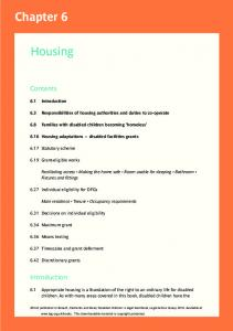 6.3 Responsibilities of housing authorities and duties to co-operate