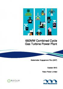 660MW Combined Cycle Gas Turbine Power Plant