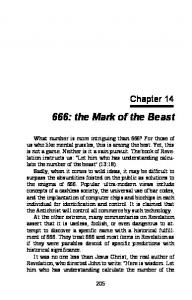666: the Mark of the Beast