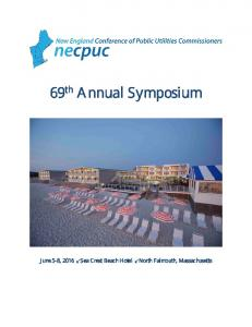 69 th Annual Symposium