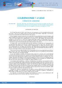 6.SUBVENCIONES Y AYUDAS