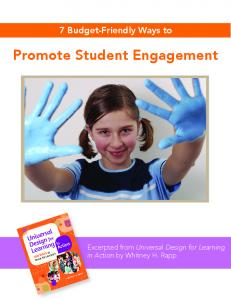 7 Budget-Friendly Ways to Promote Student Engagement